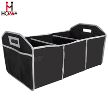 Car Travel Cargo SUV Trunk Organizer with Cooler and A Zipped Lid