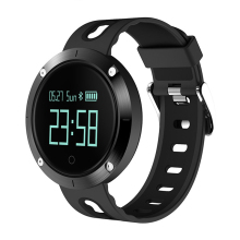 Heart rate DM58 Bluetooth <strong>Smart</strong> Touch Screen WristWatch with Camera Water Resistant Pedometer Call/SMS Remi