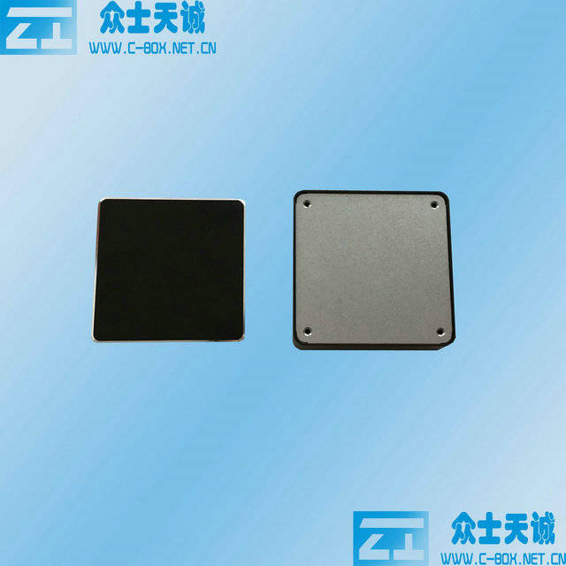 ZK-114-5 / 80*80*23mm small square wifi router box Profile mould aluminum media shell can be customized metal box