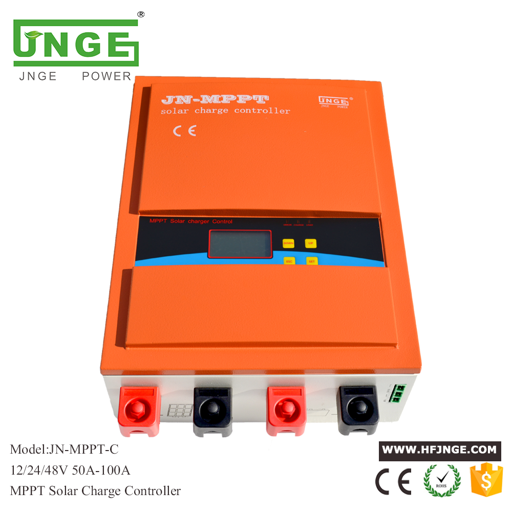 JNGE MPPT Solar <strong>Charge</strong> <strong>Controller</strong> 80A 12V 24V 48v Auto with Factory Price
