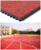 Prefabricated Rubber Flooring Roll Athletic Track