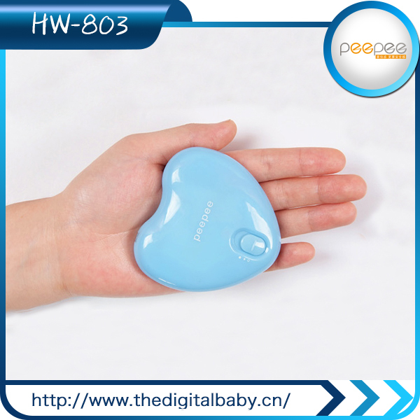 portable plate warmer peepee Mini usb lithium battery portable hand warmers