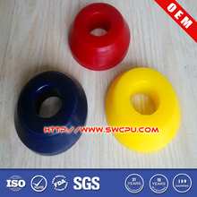Molded Small Anti-vibration Round Rubber/PUR Bushing For Skateboard