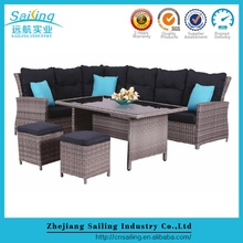 All Weather Wicker Cheap Metal Victory Garden Furniture