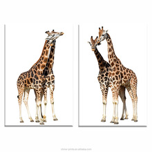 Giraffe Picture Print on Canvas Modern Home Wall Decoration Goods Animal Photo Canvas Printing Wall Art Framed With Solid Wood
