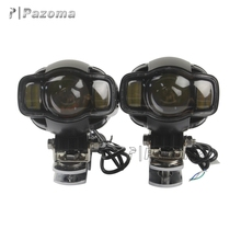 Good Quality China Motorbike Accessories 25W led Spot Light DC 9-85V Led Motorcycle Headlight