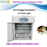 Factory price automatic poultry 128 turkey egg incubator for sale HJ-I2