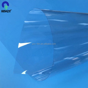 High Glossy Rigid Transparent PVC Film 0.45mm