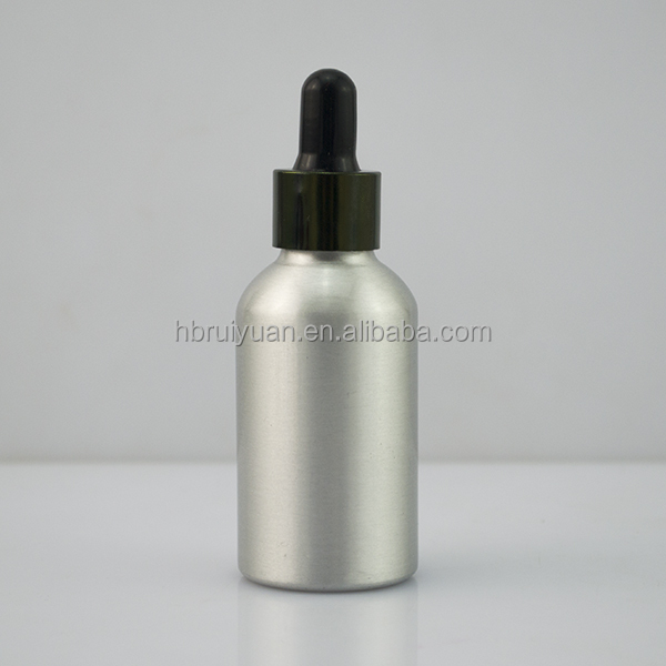Free samples 30ml 60ml E Liquid Dropper Bottles / Child Resistant Aluminium Dropper / cosmetic dropper bottle