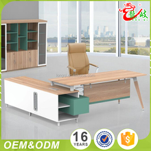 2017 Foshan shunde hot sale lastest melamine material luxury executive table modern office furniture