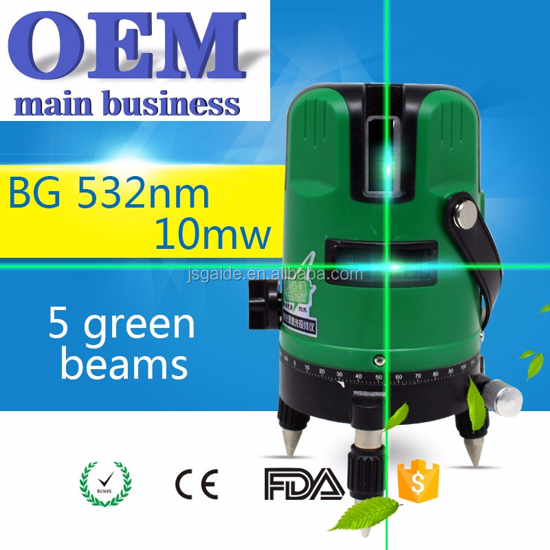 New cheap prices cross green beams rotating laser level construction