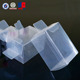 Clear Transparent Soft Crease PVC/PET Clear Plastic pet packing Box