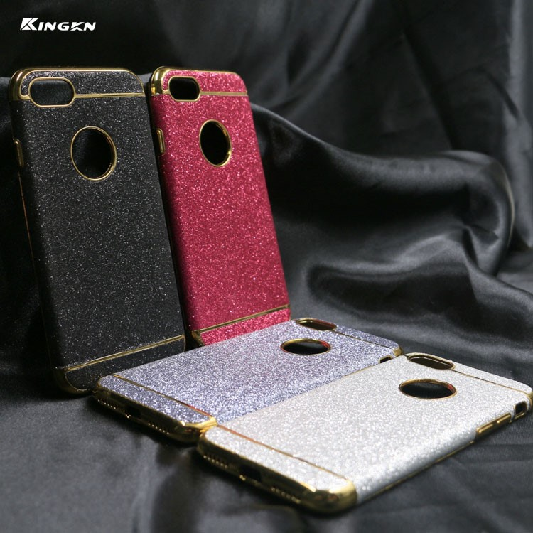 TPU Leather Bling Glitter back Cover phone case