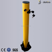 Road Safety Barrier folding down bollard price