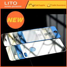 Mirror color 2.5D 0.33mm tempered glass screen protector for iphone 5