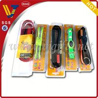 2014 Hot sales led usb rechargeable dog collars