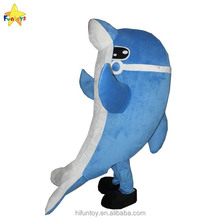 Funtoys CE used dolphin cartoon mascot costumes for sale