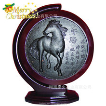 special christmas gift China horse Artistic dark tea