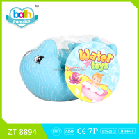 2015 New Item!Eco-friendly PVC big dolphin+4 small dolphin baby bath learning toy