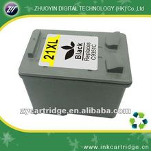 Wholesale ink cartridge for HP 21xl remanufactured printer ink cartridge