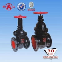 chain wheel locking gate valve