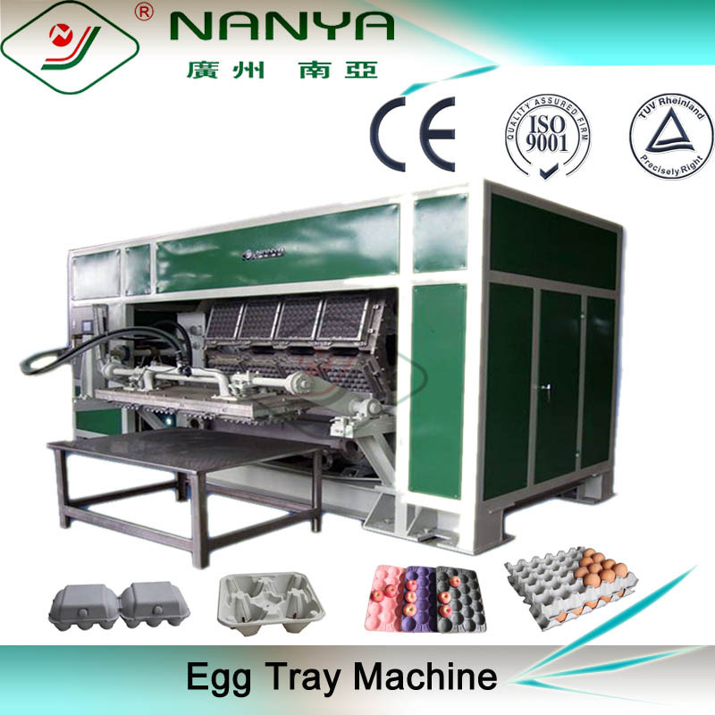 egg box machine / paper pulp egg tray machine / packing machine for egg tray