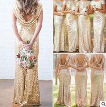 Summer women dress fashion sequins design beautiful ladies wedding dress
