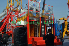 SC270/270G 2.7t double cages GERMAN technology variable frequency construciton lifter/hoist/elevator