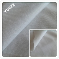 100% polyester warp knitted brushed loop pile fabric for lining flocking