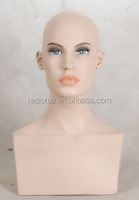 hot sell female mannequin head with shoulder