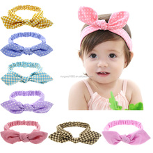 HAOXIE elastic hair band Baby children head bands infant headband nylon headbands