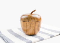 2016 creative & practical wooden cup/wooden mug apple shape