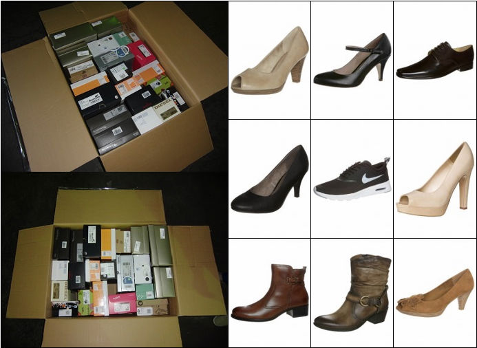 Mixed Branded Shoe Stocks (1 pallet) perfect for Outlets and Retail Stores