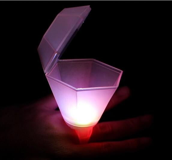 light up LED Shot Glass Ring Set for Bachelorette Party Bridal Shower or Girls' Night Out hen party