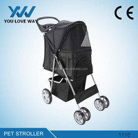 Alibaba Hot sell pet stroller carrier with good pet stroller price pet stroller factory