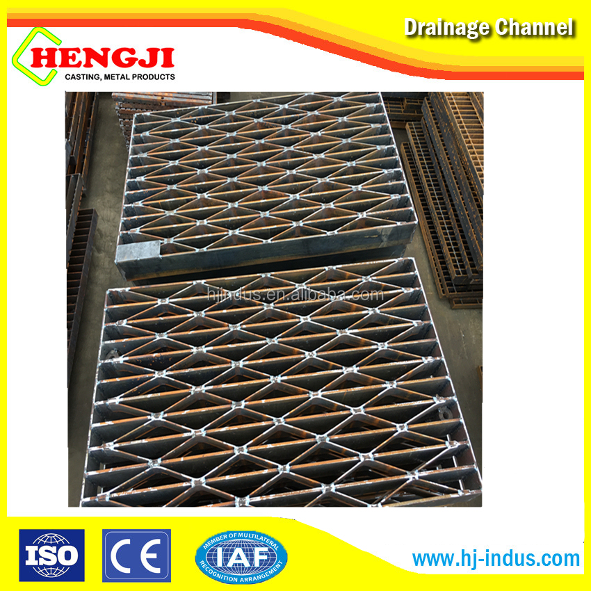 competitive price low carbon galvanized grating Customized ISO9001