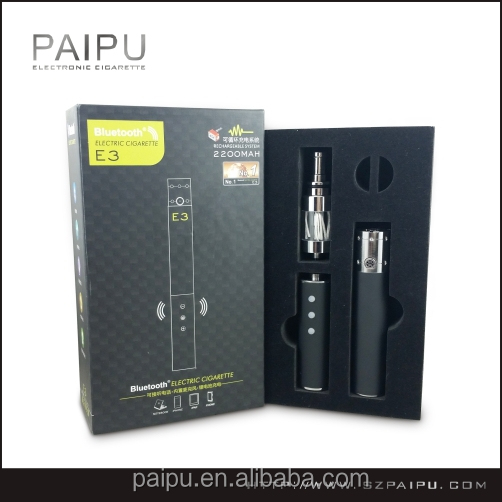 Bluetooth vaporizer VV Mechanical Mod ecigs Paipu patented variable voltage battery ecigs