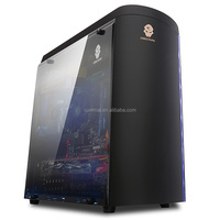 Special Designning Micro ATX CASE with LED lights, cylindric Micro ATX Gabinets -MICRO-D