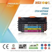 new toner cartridge CF380A CF380 new compatible for HP M476dn