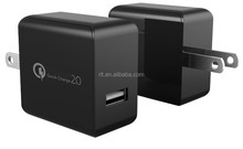 High Quality Quick Charge 2.0 USB Charger US/EU Adapter For Samsung Galaxy for iphone