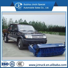 DongFeng 4X2 double row snow fighting jeep truck