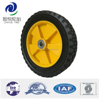 10 inch solid rubber tires gocart wheels