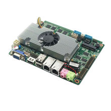X86 wholesale PC components motherboards Support 1080P HD and Onboard 24bit LVDS D2550 firewall SBC board