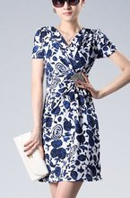 ladies colorful embroidery new fashion dress