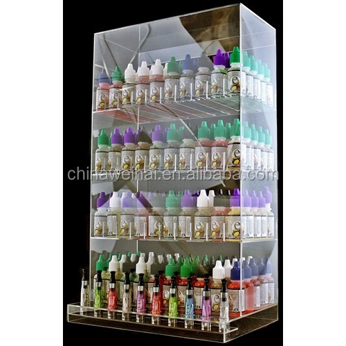 acrylic display case for e-cigarette