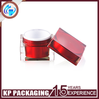 30g Square Acrylic Cream Jar Face Cream Cosmetic Packaging