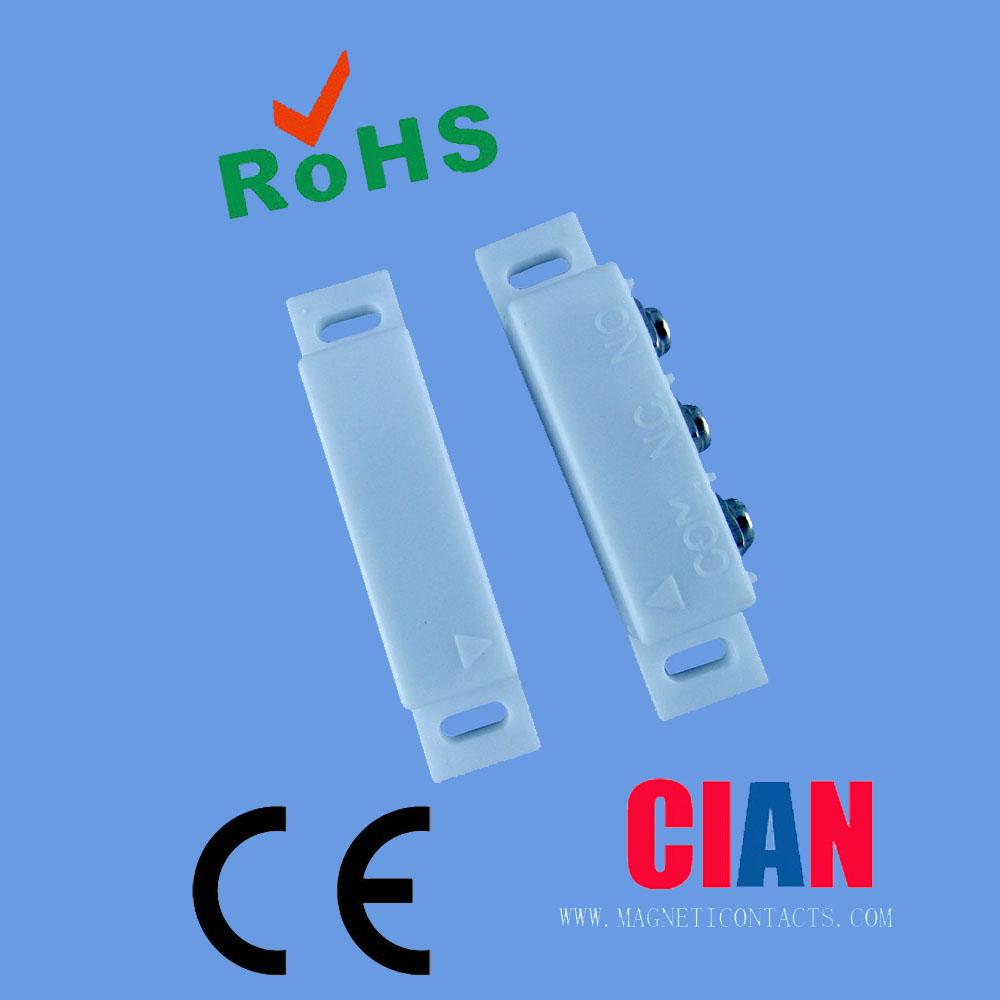 Door magnet sensor blutooth magnetic switch 12v for gsm for 12v magnetic door switch