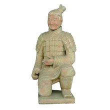 Ancient Chinese statue the archer figurines Qin terracotta warriors replica YGF87-4
