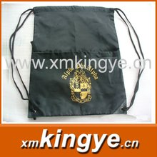 custom printing polyester/nylon draw string bag