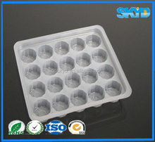 Disposable Plastic Dessert Packaging Tray